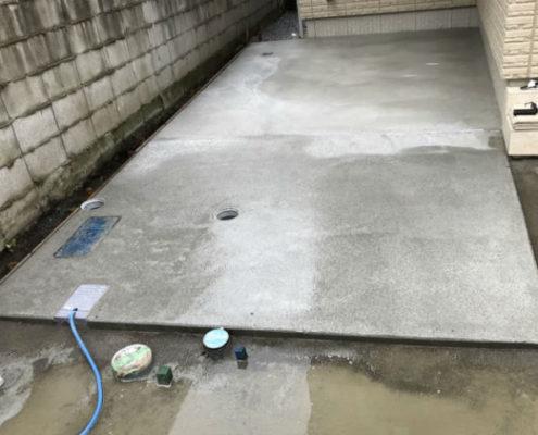 コンクリート打設・表面仕上げ