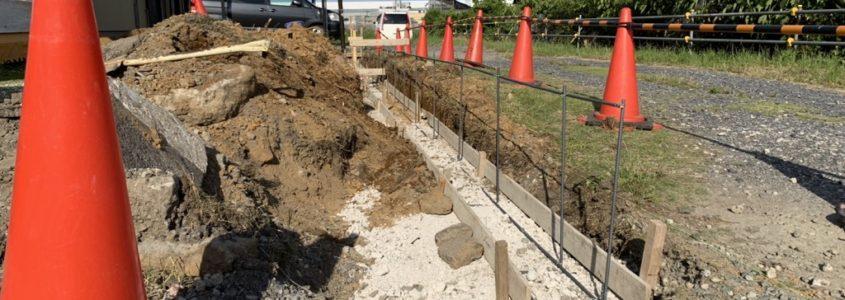 ブロック塀・囲いの施工