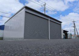 車庫(ガレージ)の組み立て・施工後